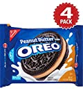 Oreo Kekse Chocolate Peanut Butter Creme - 4er Pack (4x432g)