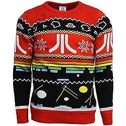 Atari Official Christmas Jumper/Ugly Sweater - UK L/US M