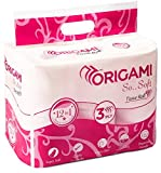 #2: Origami So Soft 3 Ply Toilet Tissue 12 Rolls - 160 Pulls Per Roll - Total 1920 Pulls