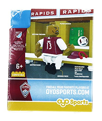 MLS Colorado Rapids Jermaine Jones OYO Sports Minifigure
