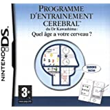 Dr. Kawashima's Brain Training for NDS/Lite - French Version by Nintendo