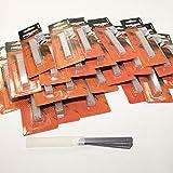 100 x Cuttermesser Ersatzklingen Teppichmesser Abbrechklingen 9 mm