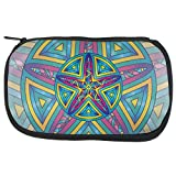 Unbekannt Mandala Trippy Glasmalerei Seestern Make-up Tasche Multi Standard One Size