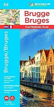 Plan Bruges Michelin