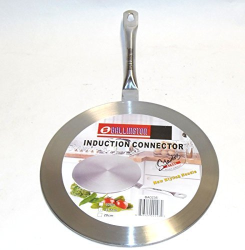 Induction Cooktop Converter Interface Disc 9.5 Stainless Steel by The Cookware Company