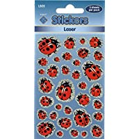 Ladybird Stickers Laser Labels 2 Sheets