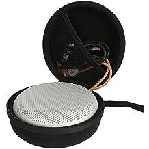 Khanka Dur Cas Voyage étui Housse Porter pour B&O Play by Bang & Olufsen BeoPlay A1 Enceinte Bluetooth Sans-fil Haut-parleur Speaker