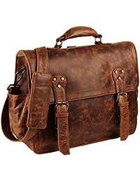 e65712733e Handmade World | Leather Messenger Bags | 15'' Unisex Convertible Bag |  Leather Backpack