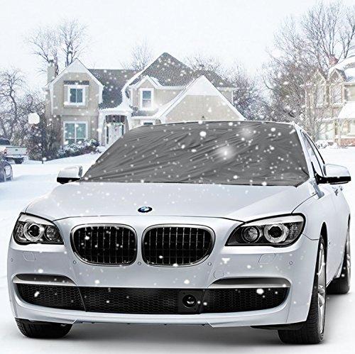Winterabdeckung Frontscheibe für Winter-Eis Schnee Sonenschutz Displayschutzfolie Outdoor-(215 x 125 cm)