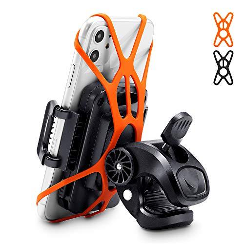 ESR Soporte teléfono para Bicicleta, Soporte Giratorio 360 Grados para bicics/Motos. Compatible...