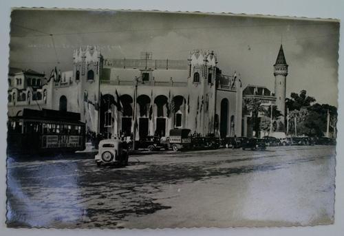 Antigua postal fotográfica. Old photo post card. Nº 138 - VALENCIA - Palacio de la Feria