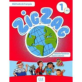 Zigzag 1 - Niveau A1.1 - Livre + CD