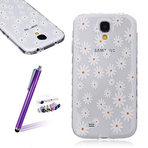 LOOKAY Samsung Galaxy S5 Coque Housse Silicone Etui Case Cover Transparent Crystal Clair Soft Gel TPU (B11) 19HUA