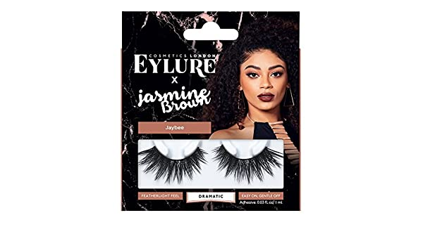 5d6e897bc0a Buy Curly Queen: Eylure Jasmine Brown, False Lashes, Curly Queen, Adhesive  Included, Reusable, 1 Pair Online at Low Prices in India - Amazon.in