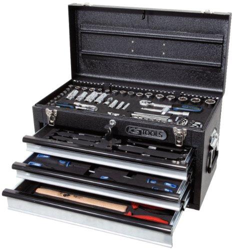 "KS Tools 918.0250 1/4""+3/8"" CHROMEplus® Universal-Werkzeug-Satz, 99-tlg."