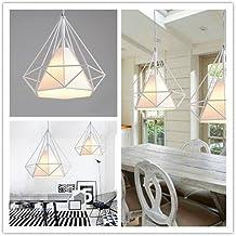 icaseu retro antiguo industrial metal jaula lmpara colgante de techo moderno minimalista creativa portalmpara perfecta para