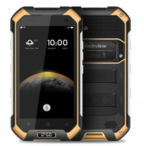 Blackview BV6000 - IP68 Android 6.0 esterna impermeabile Smartphone 3GB di RAM + 32GB con 2.0GHz 4,7 pollici Gorilla Glass 3 Giallo