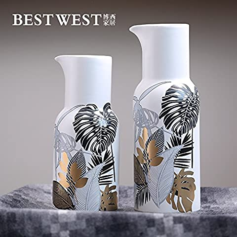 Fatte a mano Continental vasi in porcellana ,13 * 12,5*29cm tromba