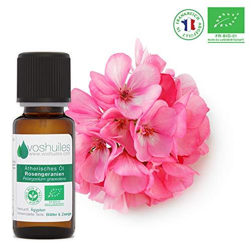 Ätherisches Bio-Rosengeranienöl - 10ml