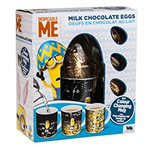 Despicable Me Milk Chocolate Eggs with Colour Changing Mug 82g