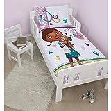 Disney Doc Mcstuffins Parure de lit pour enfant avec housse de couette Motif Findo