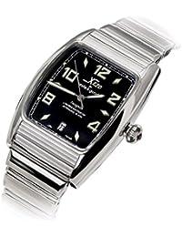 Xezo Incognito para Unite4:good - Reloj automático tonel grande, cristal de zafiro suizo, movimiento Citizen, 10 ATM