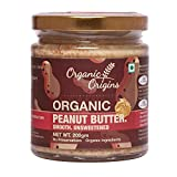 Organic Origins Peanut Butter (Smooth Unsweetened)