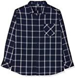 Urban Classics Basic Check Shirt Chemise Casual, Bleu (Navy/WHT 00159), Small Homme