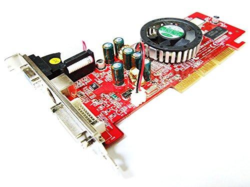 Gainward Nvidia GeForce FX5500 128MB DVI VGA TV-Out AGP Video Card GI31520LP0B4 (Generalüberholt) (Fx5500 Agp)
