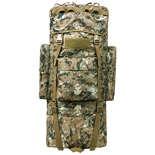 zaino trekking Uomini e donne di 65L / 100L Spalle di grande capacità Indietro i sacchetti di bagaglio dello zaino escursionistico esterno Zaini da escursionismo ( Colore : 7 , dimensioni : 65L-30*20* 10