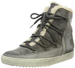 Paul Green Damen Ankle Boots Hohe Sneaker, Grau (Stone), 40 EU