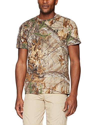 Under Armour Herren T-Shirt Threadborne Camo Short Sleeve, Herren, Realtree Ap-Xtra (946)/Black, XXX-Large