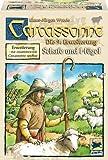 Hans im Glück 48240 - Carcassonne, Schafe und Hügel - Erweiterung 9, Legespiel