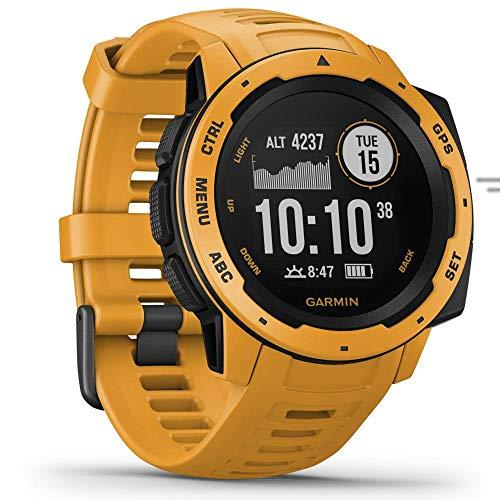 Garmin Instinct Reloj Inteligente Amarillo GPS (satélite) - Relojes Inteligentes (GPS (satélite)