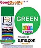 #8: Good Quality' Multipurpose Aerosol Spray Paint-Green Color