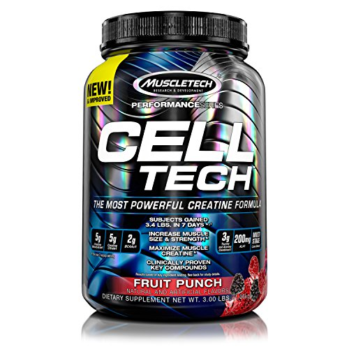 Muscletech Cell-Tech - Fruit Punch, 1er Pack (1 x 1.4 kg)