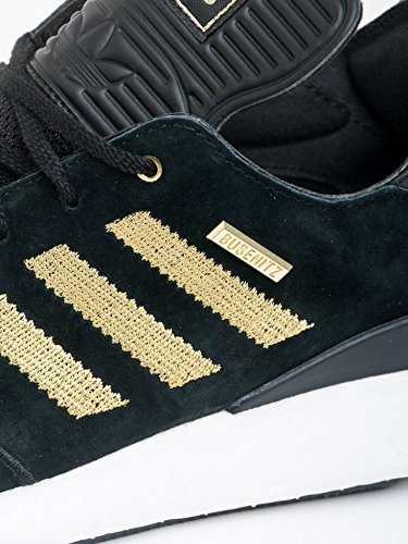 adidas Skateboarding Busenitz Pure Boost 10 Years Anniversary, core black/gold metallic/ftwr white Black/Gold