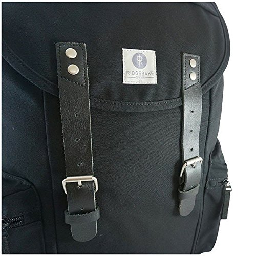 Ridgebake Liam Rucksack 998 black/black leather