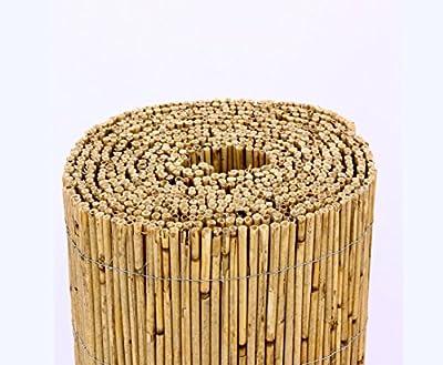 """Schilfrohrmatten Premium """"Beach"""", 140 hoch x 600cm breit, ein Produkt von bambus-discount - Sichtschutz Matten Windschutzmatten ... von bambus-discount.com bei Gartenmöbel von Du und Dein Garten"""