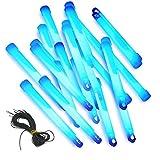 25 Knicklichter 15cm x 1,5cm gletscherweiss, Glowsticks, Leuchtstäbe, bulkware