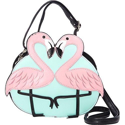 WonderMolly Pink Flamingo Love Umhängetasche -