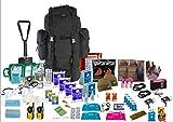"""Notfall-Tasche mit Inhalt, """"Bug Out Bag"""", für 2 Personen"""