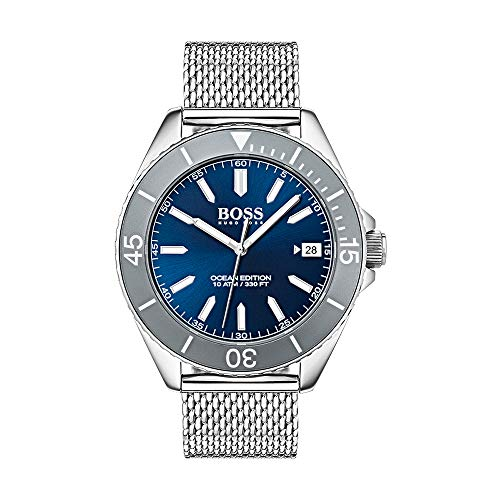Hugo Boss Men's Time Only Watch with Stainless Steel Strap