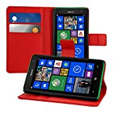 kwmobile Wallet Case Hülle für Nokia Lumia 625 - Cover