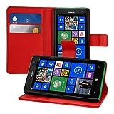 kwmobile Hülle für Nokia Lumia 625 - Wallet Case Handy