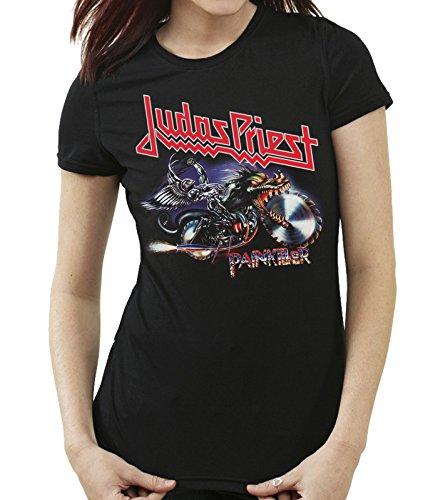 35mm - Camiseta Mujer - Judas Priest - Painkiller - Women'S T-Shirt, NEGRA, S