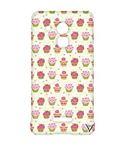 Vogueshell Cupcake Pattern Printed Symmetry PRO Series Hard Back Case for Coolpad Note 3 Lite