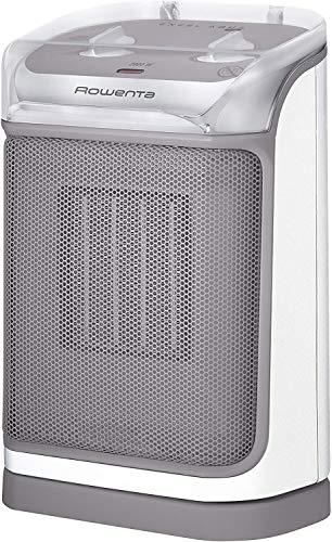 Rowenta SO9280 Excel Aqua Safe Keramik-Heizlüfter, Zwei Leistungsstufen, Elektro-Heizung, Badezimmer, energiesparend, Innenraum