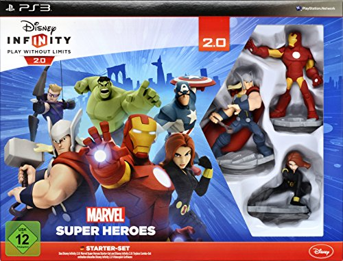 Disney Infinity 2.0 - Marvel Super Heroes (Starter-Set) (Ps3-disney-universum)