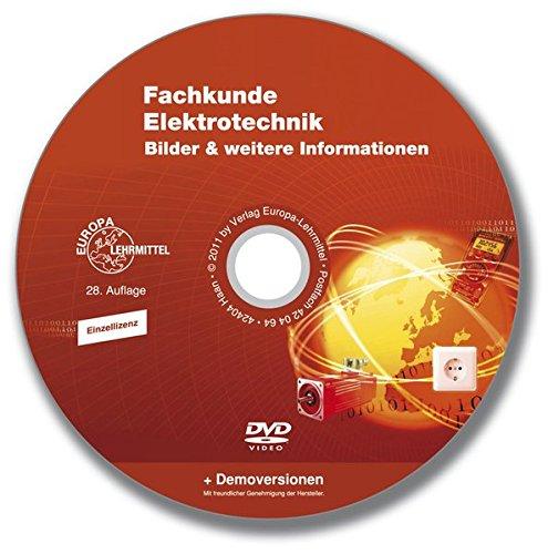 Preisvergleich Produktbild Fachkunde Elektrotechnik,  Bilder-DVD Einzellizenz zur 28. Auflage